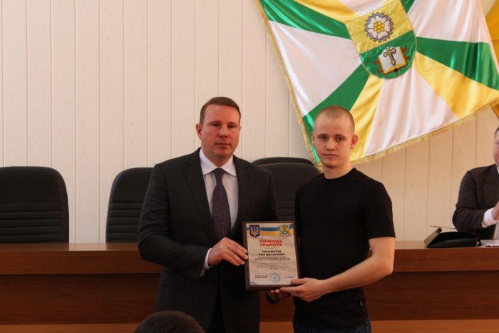 Міський голова нагородив спортсменів