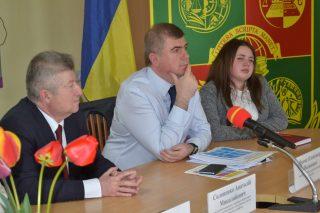 Зустріч студентів із заступником Міністра молоді та спорту України Олександром Яремою