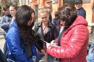 Студенти взяли участь в акції «Зробимо своє місто кращим!»