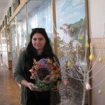 Напередодні Великодня на кафедрі ботаніки і садово-паркового господарства пройшов майстер-клас