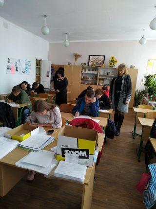 Профорієнтаційний виїзд викладачів природничо-географічного факультету до смт Нікольське Донецької області