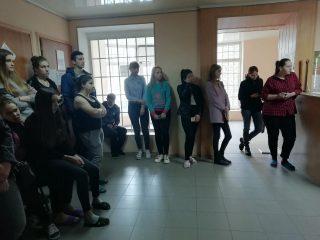 У студентському гуртожитку №1 проведено інформаційно-роз'яснювальну роботу серед студентів