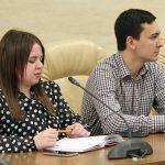 Студентки університету були на черговому засіданні Запорізької ОСР