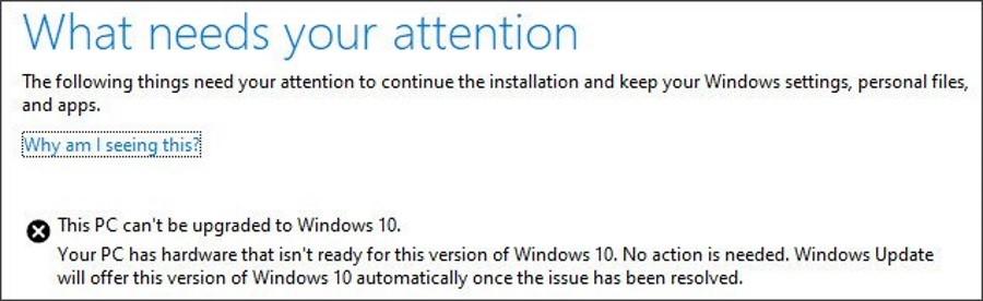 Наступне велике оновлення Windows 10 не встановиться з зовнішніми USB або SD
