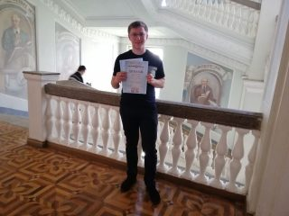 """Вітаємо з перемогою у Всеукраїнському конкурсі студентських наукових робіт зі спеціальності """"Комп'ютерні науки""""!"""