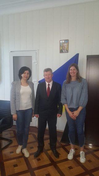 Ректор університету зустрівся з консультантами Проекту USAID