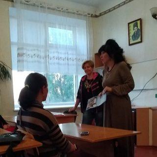Зустріч викладачів філологічного факультету з батьками майбутніх абітурієнтів
