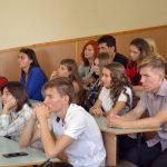 Кураторська година на хіміко-біологічному факультеті «Україна в моєму серці»