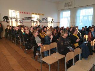 Відкриті збори випускників та їх батьків в Мелітопольській зош