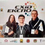 Викладачі університету Олександр і Гана Брянцеви взяли участь у роботі виставки «СХІД-ЕКСПО 2019»