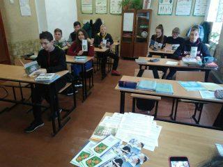 Зустріч з учнями Данило-Іванівської ЗШ І-ІІІ ступенів