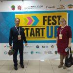 Участь у круглому столі під час фестивалю бізнес-ідей «Startup Fest-2019»