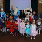 Дід Мороз і Снігуронька привітали дітей співробітників і студентів