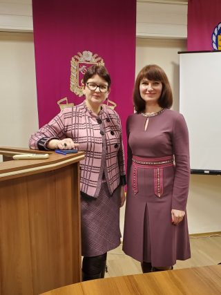 Кафедра педагогіки і педагогічної майстерності учасник І Міжнародної науково-практичної конференції з освіти дорослих у Харкові