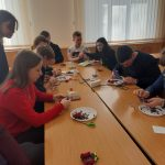 На кафедрі екологічної безпеки та раціонального природокористування виготовили магніти-валентинки