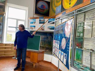 Школярі Якимівського району на екскурсії у геолого-палеонтологічному музеї