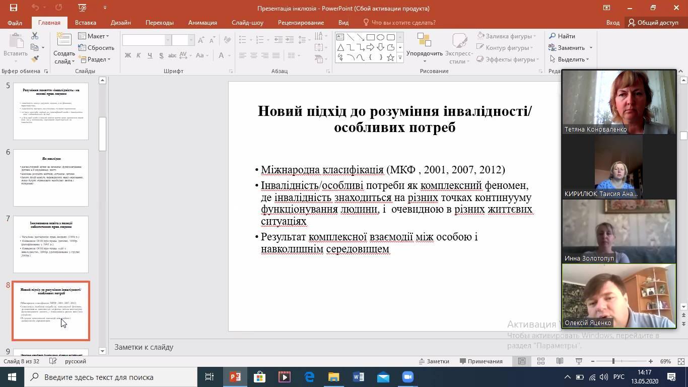 Науково-методична співпраця з методичним об'єднанням вчителів англійської мови міста Мелітополя